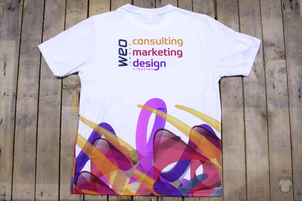 T-shirt Full Urban avant confection.