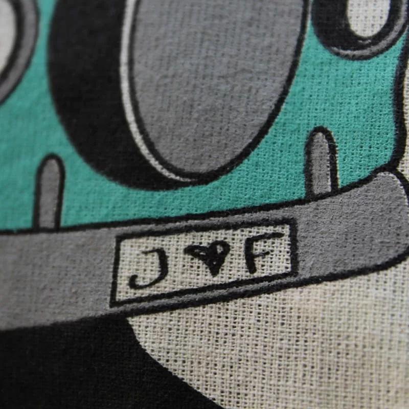 Joytex Shopper manici lunghi naturale.