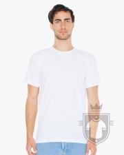 Camisetas American Apparel 2001W color White :: Ref: 000