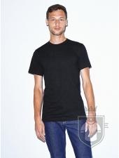 Camisetas American Apparel 2001W color Black :: Ref: 101