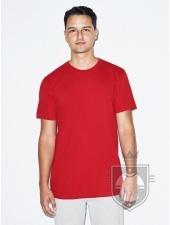 Camisetas American Apparel 2001W color Red :: Ref: 400