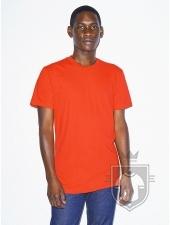 Camisetas American Apparel 2001W color Orange :: Ref: 410