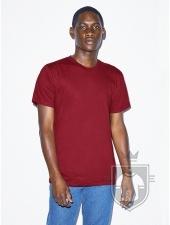 Camisetas American Apparel 2001W color Cranberry :: Ref: 428