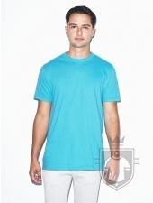 Camisetas American Apparel 2001W color Turquoise :: Ref: 536