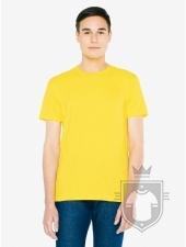 Camisetas American Apparel 2001W color Sunshine :: Ref: 608