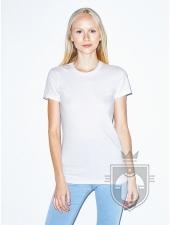 Camisetas American Apparel 2102W Lady color White :: Ref: 000