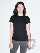 Camisetas American Apparel 2102W Lady color Black :: Ref: 101