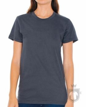 Camisetas American Apparel 2102W Lady color Asphalt :: Ref: 106