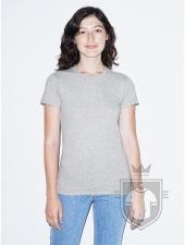 Camisetas American Apparel 2102W Lady color Heather Grey :: Ref: 123