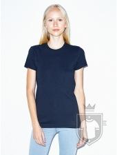 Camisetas American Apparel 2102W Lady color Navy :: Ref: 200