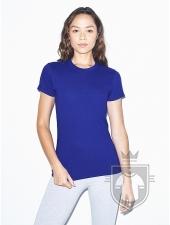 Camisetas American Apparel 2102W Lady color Lapis :: Ref: 208
