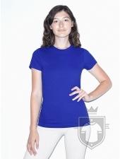 Camisetas American Apparel 2102W Lady color Royal Blue :: Ref: 300