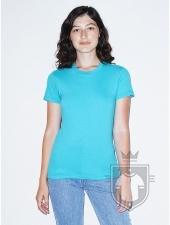 Camisetas American Apparel 2102W Lady color Aqua :: Ref: 328