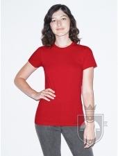 Camisetas American Apparel 2102W Lady color Red :: Ref: 400