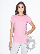 Camisetas American Apparel 2102W Lady color Pink :: Ref: 419