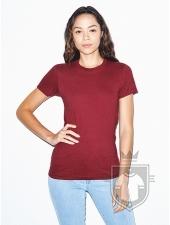 Camisetas American Apparel 2102W Lady color Cranberry :: Ref: 428