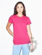Camisetas American Apparel 2102W Lady color Fuchsia :: Ref: 439