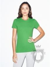Camisetas American Apparel 2102W Lady color Grass :: Ref: 513