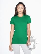 Camisetas American Apparel 2102W Lady color Kelly Green :: Ref: 518