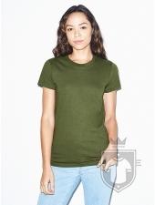 Camisetas American Apparel 2102W Lady color Olive :: Ref: 530