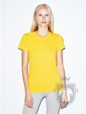 Camisetas American Apparel 2102W Lady color Sunshine :: Ref: 608