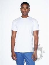 Camisetas American Apparel BB401 Polycotton color White :: Ref: 000