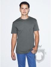 Camisetas American Apparel BB401 Polycotton color Asphalt :: Ref: 106