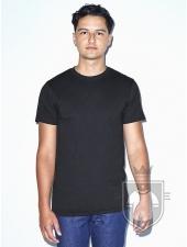Camisetas American Apparel BB401 Polycotton color Heather Black :: Ref: 111