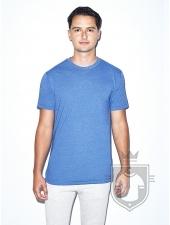 Camisetas American Apparel BB401 Polycotton color Heather Lake Blue :: Ref: 338