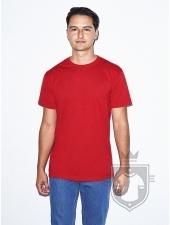 Camisetas American Apparel BB401 Polycotton color Red :: Ref: 400