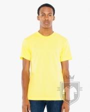 Camisetas American Apparel BB401 Polycotton color Sunshine :: Ref: 608