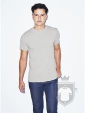 Camisetas American Apparel BB401 Polycotton color New Silver :: Ref: 712
