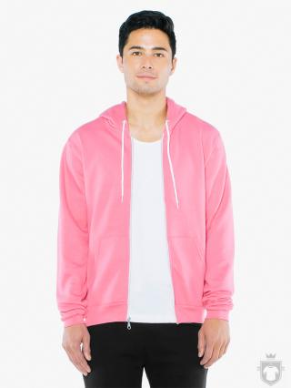 Sudaderas American Apparel F497 color Deep pink :: Ref: deep-pink