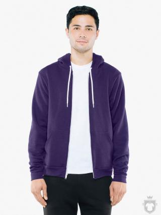 Sudaderas American Apparel F497 color  :: Ref: imperial-purple