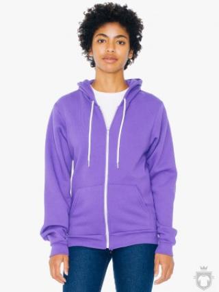 Sudaderas American Apparel F497 color Purple :: Ref: purple