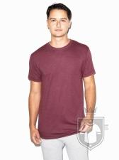 Camisetas American Apparel TR401W Tri blend color Tri Cranberry :: Ref: tri-cranberry