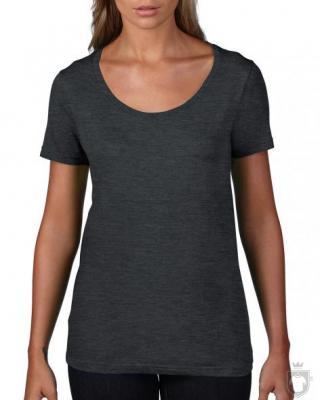 Camisetas Anvil Ring spun color Heather Dark Grey :: Ref: heather-dark-grey