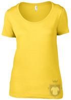 Camisetas Anvil Ring spun color Lemon Zest :: Ref: lemon-zest