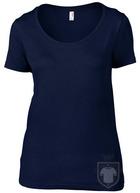 Camisetas Anvil Ring spun color Navy :: Ref: navy
