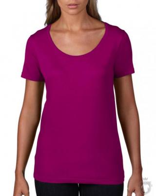Camisetas Anvil Ring spun color Raspberry :: Ref: raspberry