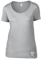 Camisetas Anvil Ring spun color Silver :: Ref: silver