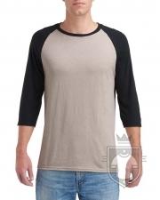 Camisetas Anvil Raglan 3/4 color  :: Ref: FB790