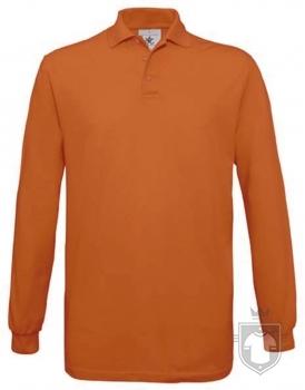 Polos BC Safran manga larga color Pumpkin orange :: Ref: 230
