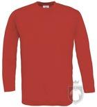 Camisetas BC 150 manga larga color Red :: Ref: 004