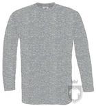 Camisetas BC 150 manga larga color Sport Grey :: Ref: 620