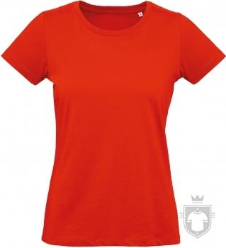 Camisetas BC Inspire Plus Organic W color Fire Red :: Ref: 007