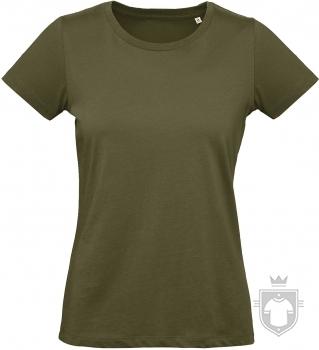Camisetas BC Inspire Plus Organic W color Urban Khaki :: Ref: 552