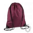 Bolsas Bag Base gymsac mochila polyester color Burgundy :: Ref: burgundy