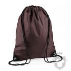 Bolsas Bag Base gymsac mochila polyester color Brown :: Ref: chocolate