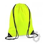 Bolsas Bag Base gymsac mochila polyester color Fluorescent yellow :: Ref: fluorescent-yellow